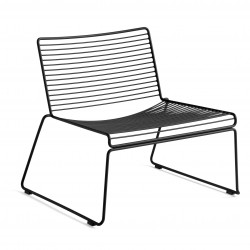 HAY Hee Lounge Chair · Black
