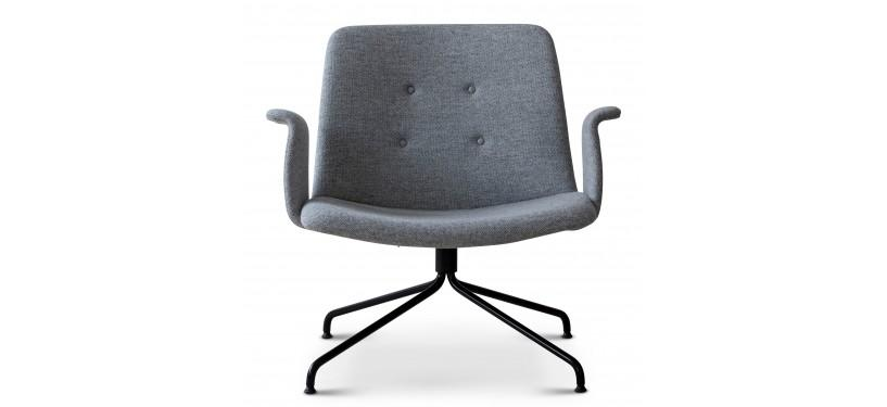 Bent Hansen Primum Lounge Chair M. Arm Hallingdal