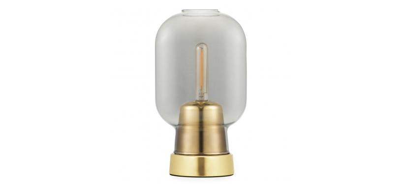 Normann Copenhagen Amp Bordlampe Messing