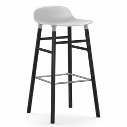 Normann Copenhagen Form Barstol Sort Eg 75
