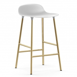 Normann Copenhagen Form Barstol Messing 65