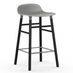 Normann Copenhagen Form Barstol Sort Eg 65