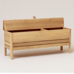 Form & Refine A Line Storage Bench