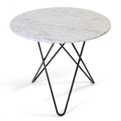 Ox Denmarq Dining O Table 80 Grå Marmor