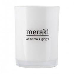 Meraki Duftlys, White tea & ginger