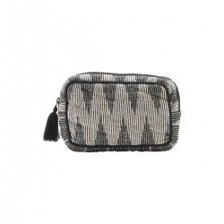 Meraki Makeup taske, Grå/Hvid