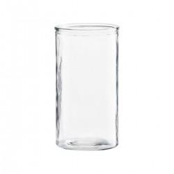 Meraki Vase, Cylinder, Klar