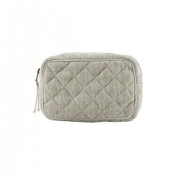 Meraki Makeup taske, Lysegrøn/beige