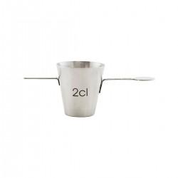 Nicolas Vahe Measuring cup, 2 cl.