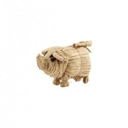 Nicolas Vahe wheat straw, Pig - Small