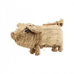 Nicolas Vahe wheat straw, Pig - Large