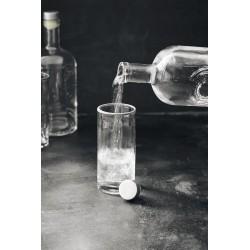 Nicolas Vahe Bottle w. lid, Still, Clear, 1000 ml.