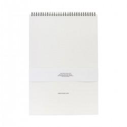 Monograph Blok, Watercolours, Hvid