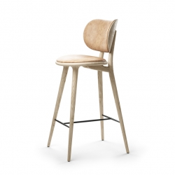 Mater High Stool Backrest