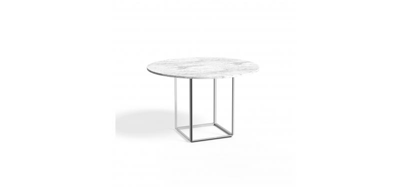 New Works Florence Dining Table Ø120 Marble