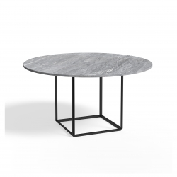New Works Florence Dining Table Ø145 Marble