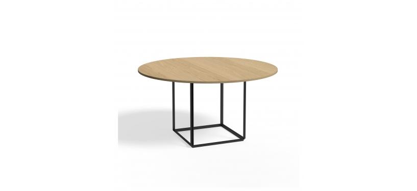 New Works Florence Dining Table Ø145 Wood