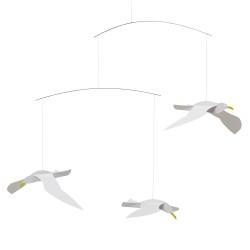 Flensted Mobiles Svævende Måger