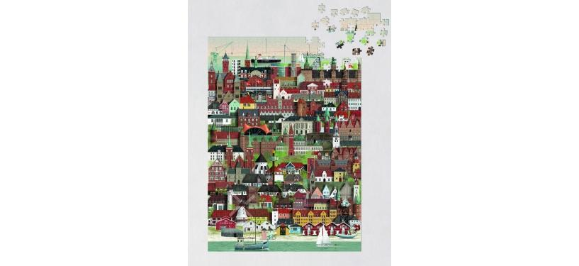 Martin Schwartz Danmark Jigsaw Puzzle