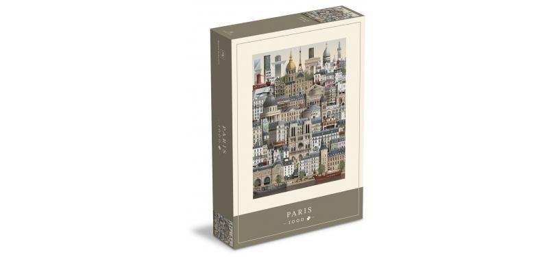 Martin Schwartz Paris Jigsaw Puzzle