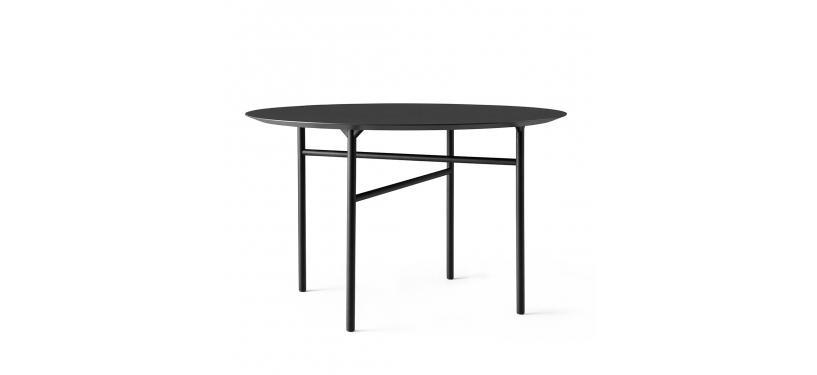 Menu Snaregade Dining Table, Round · 20 · Charcoal Linoleum