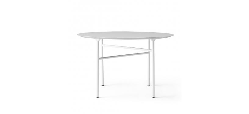 Menu Snaregade Dining Table, Round · 20 · Mushroom Linoleum