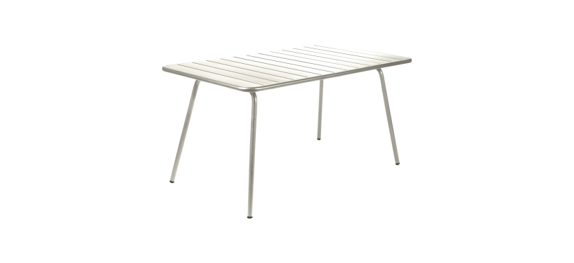 Fermob Luxembourg Table · 80 x 80 · Lagoon Blue