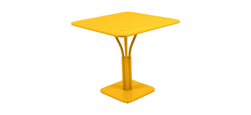 Fermob Luxembourg Pedestal Table · 71 x 71 · Russet