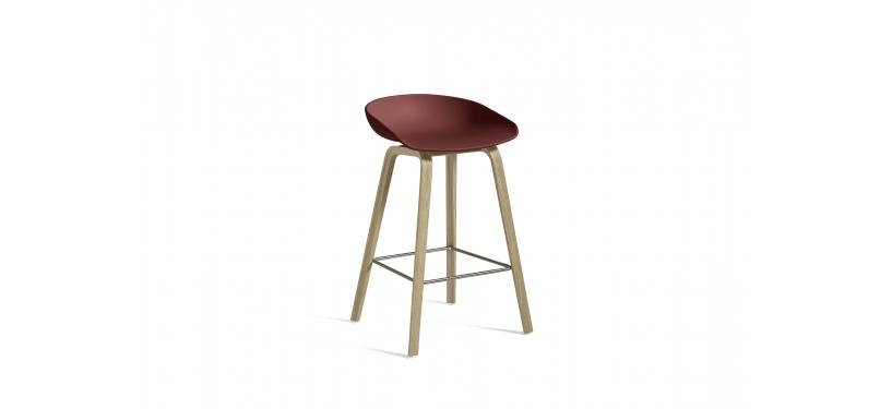 HAY About a Stool AAS32 · Waterbased nature / SS / Brick