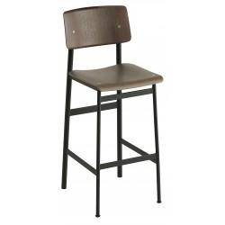 Muuto Loft Chair · Hvid/Eg