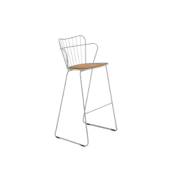 HOUE PAON Bar Chair · White Taupe