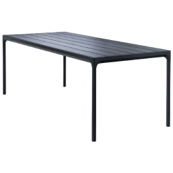 HOUE FOUR Table 210x90 Aluminum Top