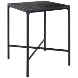 HOUE FOUR Bar Table 90x90 Aluminum Top