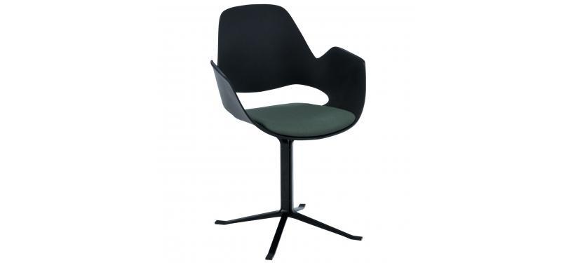 HOUE FALK Chair Column Legs w. Padded Seat