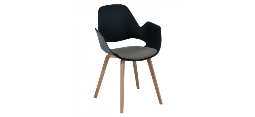 HOUE FALK Chair Solid Oak Legs w. Padded Seat