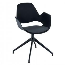 HOUE FALK Chair 4 Swivel Base Legs w. Padded Seat