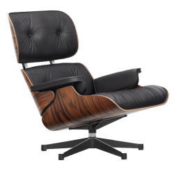 Vitra Eames Lounge Chair Sortpigmenteret Ask