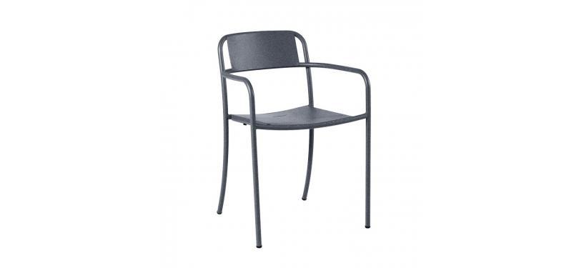Tolix Patio Stripe Armchair