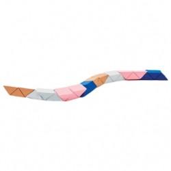 Areaware Snake Block Pink/Beige