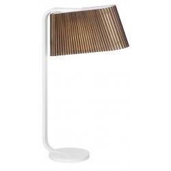 Secto Design Owalo 7020 Table Lamp · Walnut