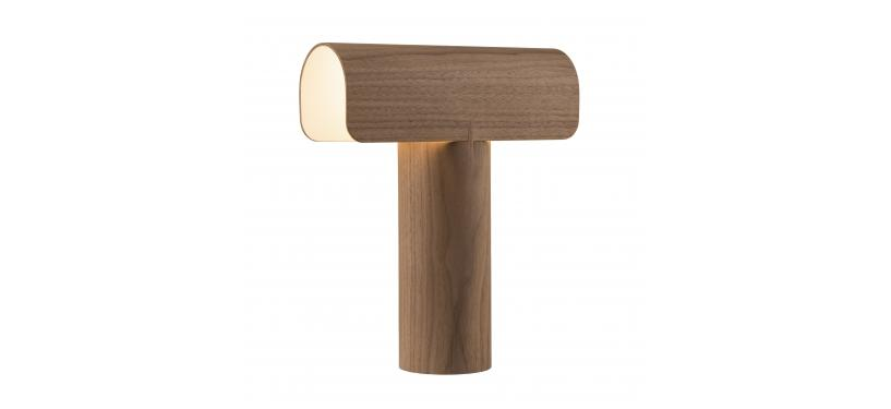 Secto Design Teelo 8020 Table Lamp · Valnød