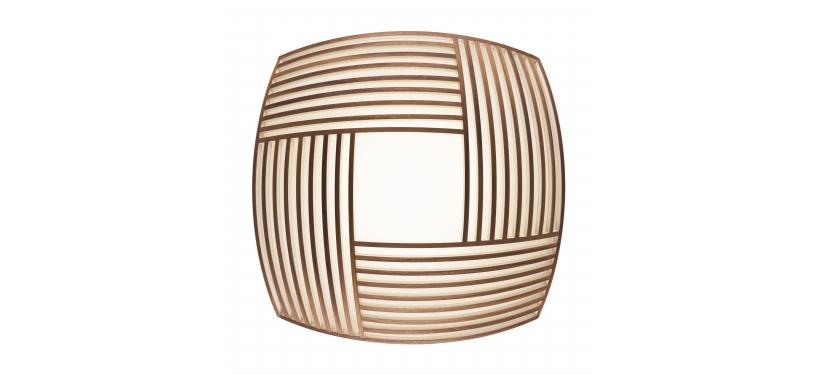 Secto Design Kuulto 9100 Ceiling Lamp · Walnut