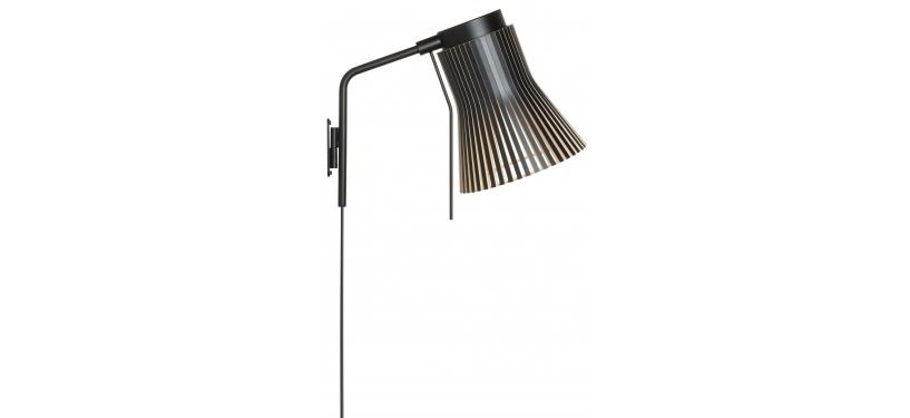 Secto Design Petite 4630 Wall Lamp · Black