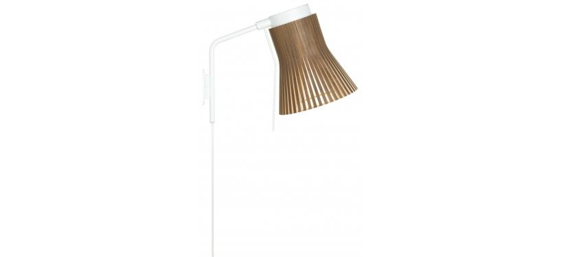 Secto Design Petite 4630 Wall Lamp · Walnut