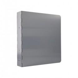 Monograph Ringbind, Alu, Rå aluminium
