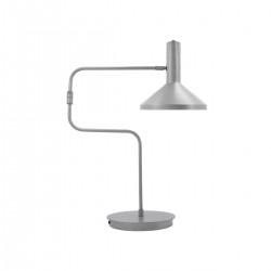 Monograph Bordlampe, Desk, Børstet sølv
