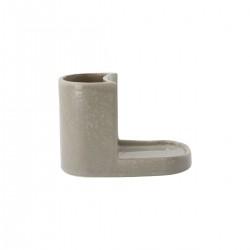 Meraki Børste- og sæbeholder, Datura, Shellish grey