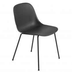 Muuto Fiber Side Chair Tube · Sort/Sort