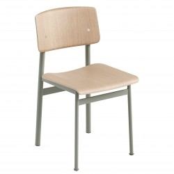Muuto Loft Chair · Dusty Green/Eg