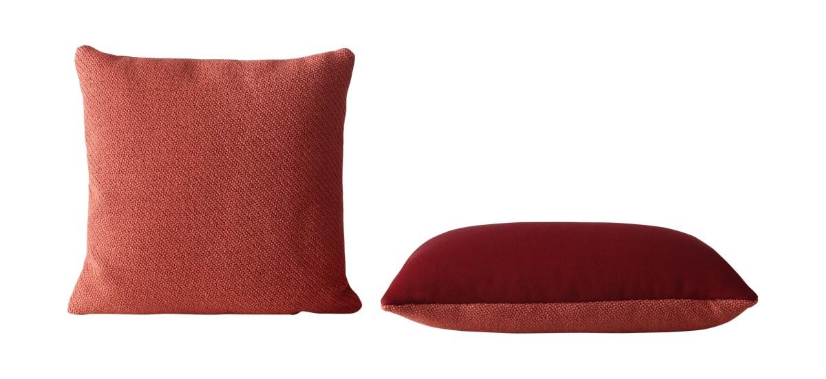 Muuto Mingle · 50 x 50 cm. · Rød
